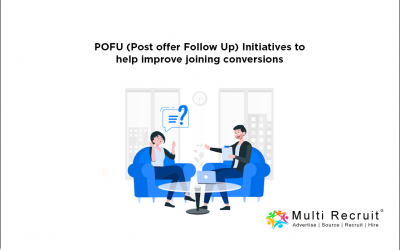 POFU (Post offer Follow Up) Initiatives to help improve joining conversions